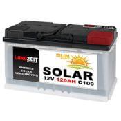Solarbatterie 120Ah 12V Langzeit