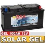 BSA Gel Batterie 100Ah 12V Blei Gel Solarbatterie